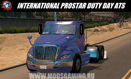 American Truck Simulator download mod truck INTERNATIONAL PROSTAR DUTY DAY