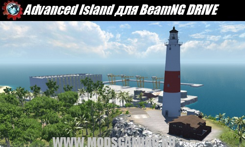 BeamNG DRIVE download mod map Advanced Island