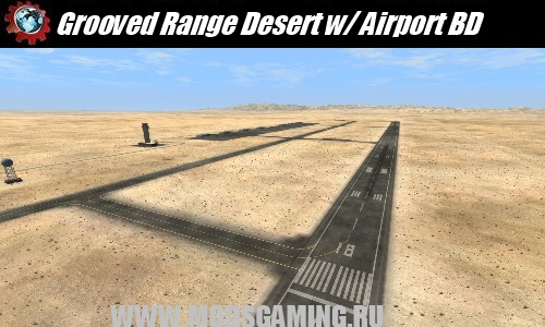 BeamNG DRIVE download mod map Grooved Range Desert w / Airport