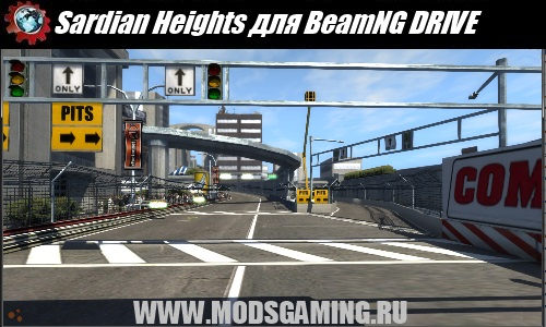 BeamNG DRIVE mod map Sardian Heights