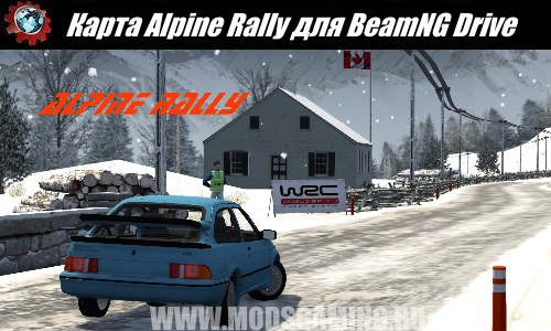 BeamNG Drive map download modes Alpine Rally