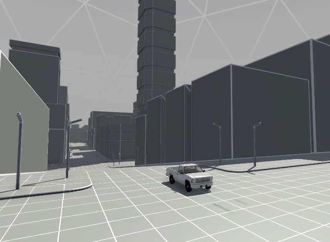 BeamNG Drive VR City 4