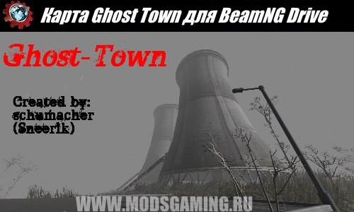 BeamNG Drive map download modes Ghost Town