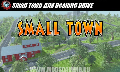 BeamNG DRIVE download mode map Small Town