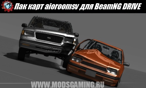 BeamNG DRIVE mod download maps Pak aioroomsv