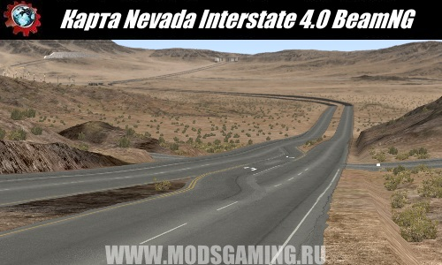 BeamNG.drive download map mod Nevada Interstate (prequel to So-Cal Interstate) 4.0