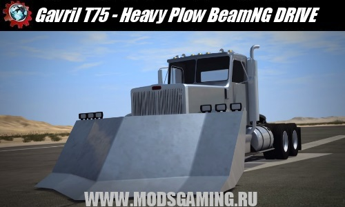 BeamNG DRIVE download mod car Gavril T75 - Heavy Plow