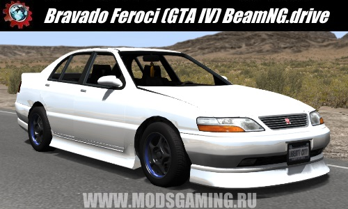 BeamNG.drive download mod car Bravado Feroci (GTA IV)