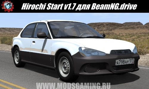 BeamNG.drive download mod car Hirochi Start v1.7