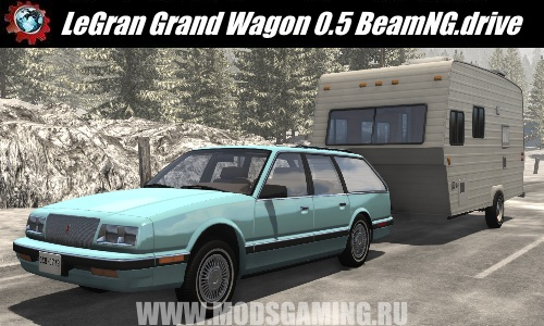 BeamNG.drive download mod car Legrand Grand Wagon (UPDATED) 0.5
