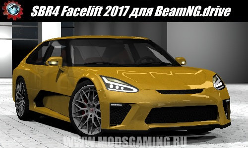 BeamNG.drive download mod car SBR4 Facelift 2017