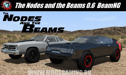 mod BeamNG.drive download Pak Car The Nodes and the Beams 0.6