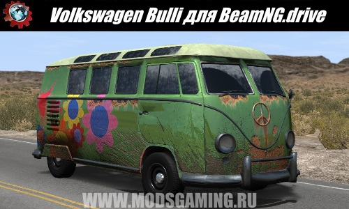 BeamNG.drive download Volkswagen Bulli car mod