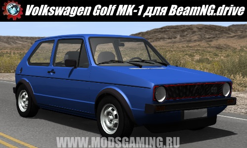 BeamNG.drive download mod car Volkswagen Golf MK-1