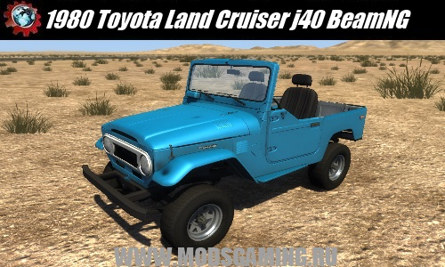 BeamNG DRIVE download mod SUV 1980 Toyota Land Cruiser j40