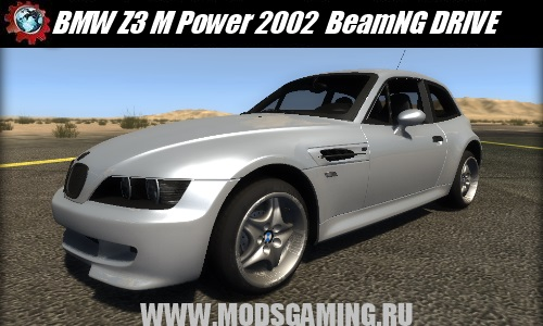BeamNG DRIVE mod car BMW Z3 M Power 2002