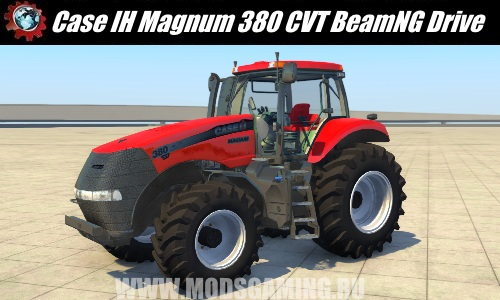 BeamNG Drive modes download tractor Case IH Magnum 380 CVX
