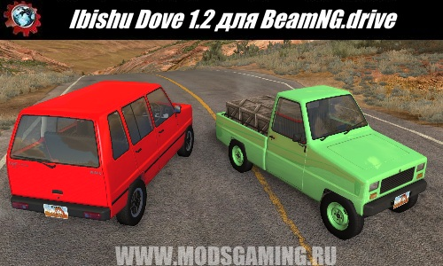 BeamNG.drive download mod car Ibishu Dove 1.2