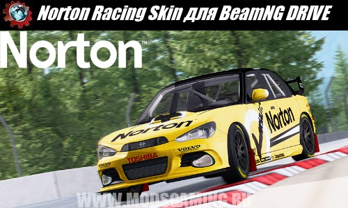 BeamNG DRIVE mod download Norton Racing Skin