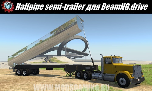 BeamNG.drive download modes trailer halfpipe semi (truck)