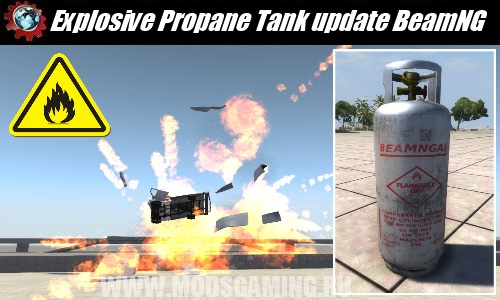 BeamNG DRIVE download modes Explosive Propane Tank update