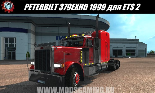 Euro Truck Simulator 2 download mod truck PETERBILT 379EXHD 1999