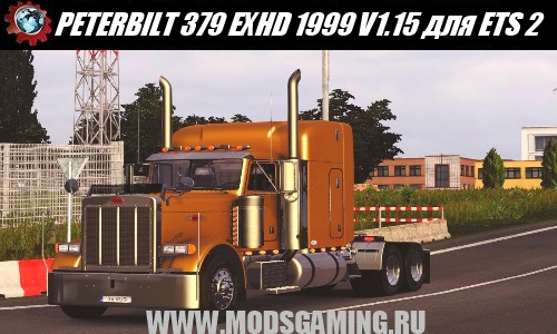 Euro Truck Simulator 2 download mod truck PETERBILT 379 EXHD 1999 V1.15