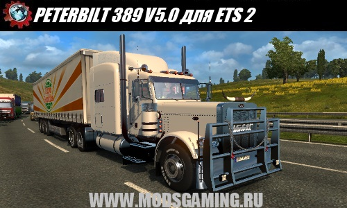 Euro Truck Simulator 2 download mod truck PETERBILT 389