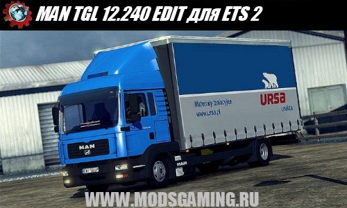 Euro Truck Simulator 2 download mod truck MAN TGL 12.240 EDIT