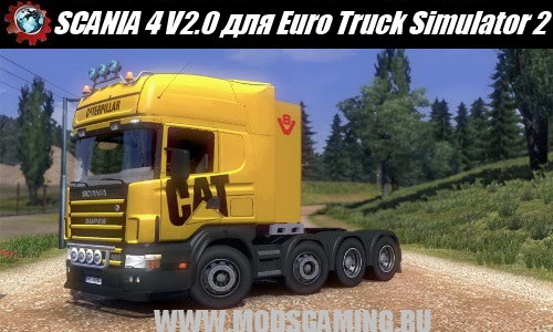 Euro Truck Simulator 2 download mod truck SCANIA 4 V2.0