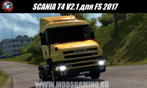 Euro Truck Simulator 2 download mod truck SCANIA T4 SERIES