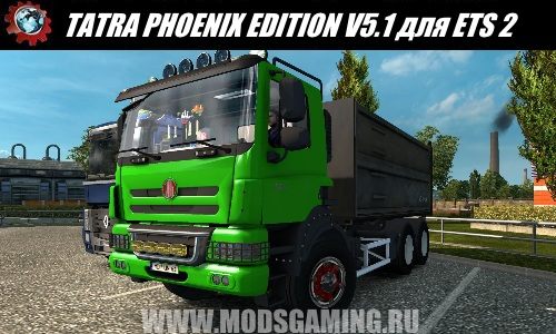 Euro Truck Simulator 2 download mod truck TATRA PHOENIX EDITION V5.1