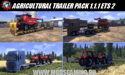 Euro Truck Simulator 2 download mod pack semi-AGRICULTURAL TRAILER MOD PACK 1.1.1