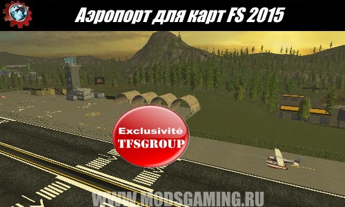 Farming Simulator 2015 download mod Airport card