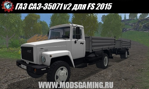 Farming Simulator 2015 download mod truck GAZ SAZ-35071 v2