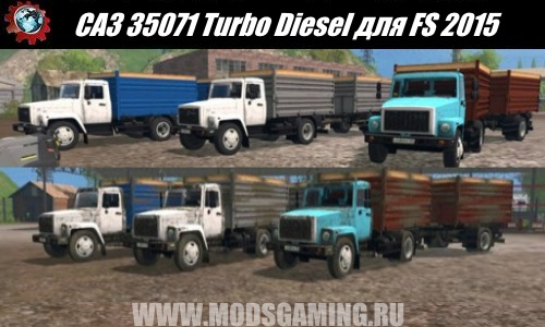 Farming Simulator 2015 download mod truck SAZ 35071 Turbo Diesel