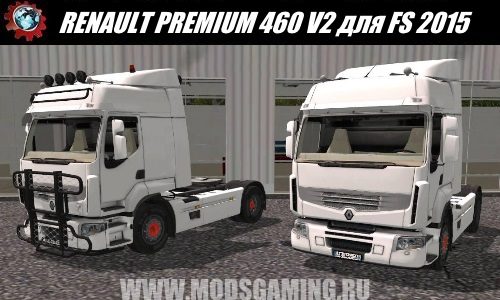 Farming Simulator 2015 download mod Truck RENAULT PREMIUM 460 V2