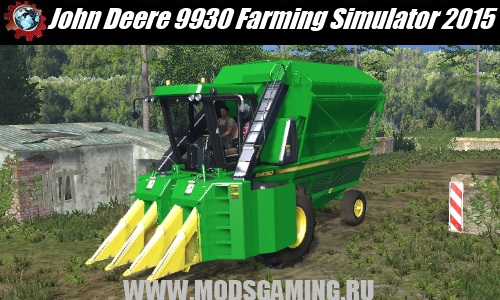 Farming Simulator 2015 download fashion cotton harvester John Deere 9930