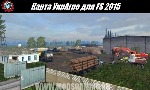 Farming Simulator 2015 download map mod UkrAgro