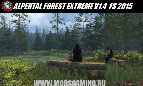 Farming Simulator 2015 download map mod ALPENTAL FOREST EXTREME V1.4