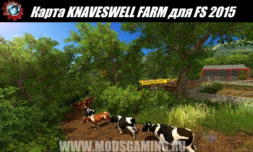 Farming Simulator 2015 download map mod KNAVESWELL FARM