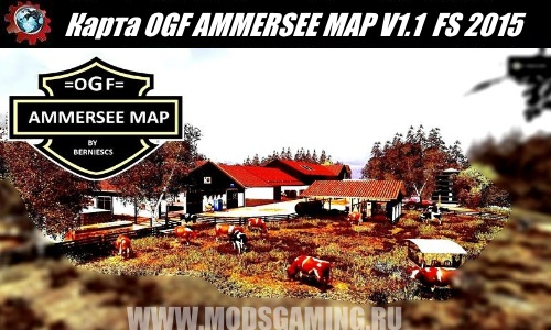 Farming Simulator 2015 download map mod OGF AMMERSEE MAP V1.1