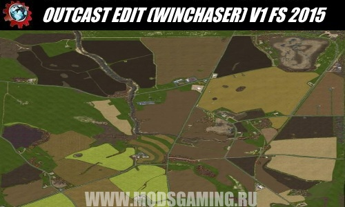 Farming Simulator 2015 скачать мод Карта OUTCAST EDIT (WINCHASER) V1
