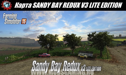 Farming Simulator 2015 download mod map SANDY BAY REDUX V3 LITE EDITION