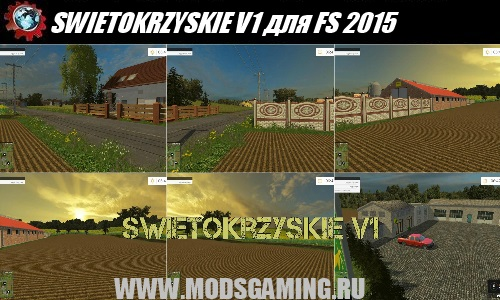 Farming Simulator 2015 download mod map SWIETOKRZYSKIE V1