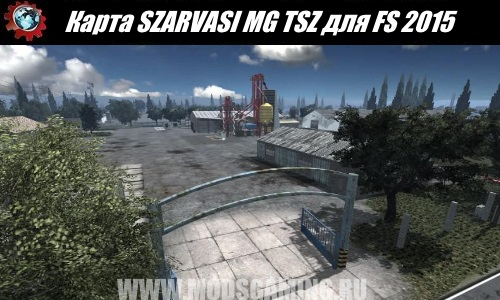 Farming Simulator 2015 download map mod SZARVASI MG TSZ
