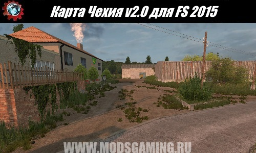 Farming Simulator 2015 download mod v2.0 Map Czech
