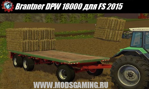 Farming Simulator 2015 mod download trailer Brantner DPW 18000