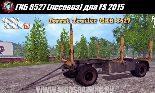 Farming Simulator 2015 trailer download mod PDB 8527 (timber)