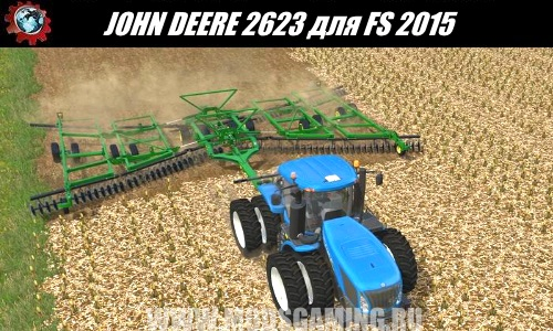 Farming Simulator 2015 download mod cultivator JOHN DEERE 2623